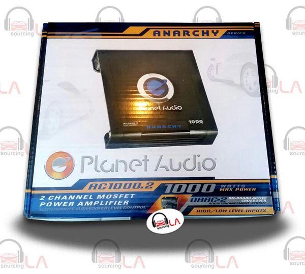PLANET AUDIO AC1000.2 ANARCHY 2-CHANNEL 1000W CLASS A/B POWER CAR AMPLIFIER