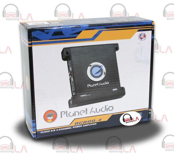 Planet Audio AC800.4 Anarchy 800-watt 4 Channel Full Range Class A/B Amplifier