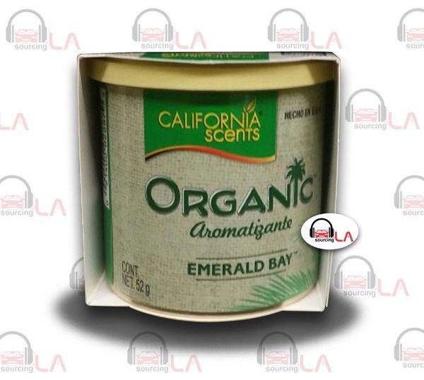 California Scents' Organic - The Power to Freshen Naturally EMERALD BAY