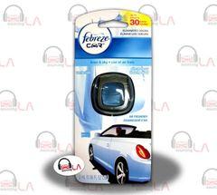 Febreze CAR Vent Clips LINEN & SKY air freshener Odor Eliminator - LOTOF8