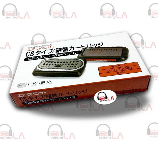 Air Spencer CSX3 Citrus Japanese Auto/Car Air Freshener Refill JDM Genuine