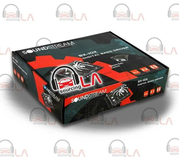 SOUNDSTREAM BX10X CAR DIGITAL LOUD BASS EPICENTER for STEREO SUBWOOFER AMPLIFIER