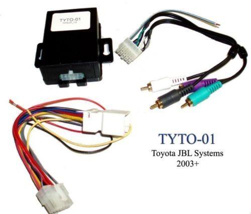 TOYOTA RADIO/STEREO OEM JBL AMP TURN-ON INSTALL INTERFACE/MODULE AXXESS TYTO-01