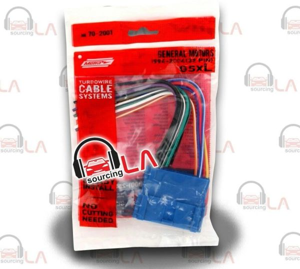Metra 70-2001 Select 1994-2004 GM/Chevrolet Wiring Harness