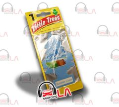 Little Trees Hanging Car and Home Air Freshener, Summer Linen(Pack of 24)
