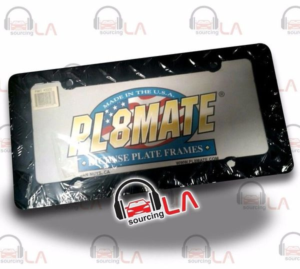 LICENSE PLATE FRAME ACCESSORIES BLACK