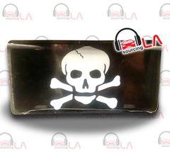 Skull Novelty Car Metal License Plate