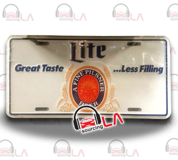 Lite Great TasteBeer Car License Plate