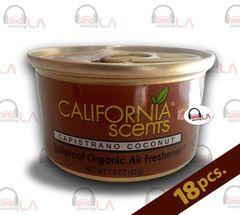 California Scents Capistrano Coconut Air Freshener Box of 18
