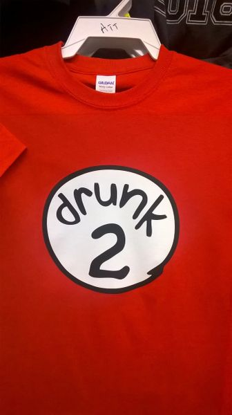 Adult Drunk-2 T Shirt