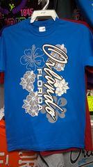 Adult Orlando Silver Flowers T-Shirt