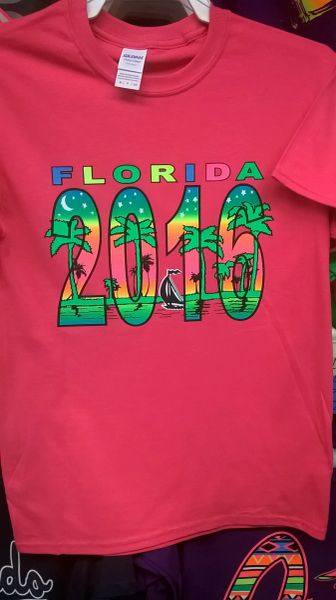 Adult 2017 Florida T-Shirts