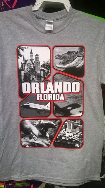 Adult Orlando ICON T-Shirts