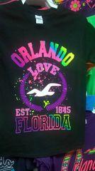 Adult Neon Orlando LOVE T-Shirts