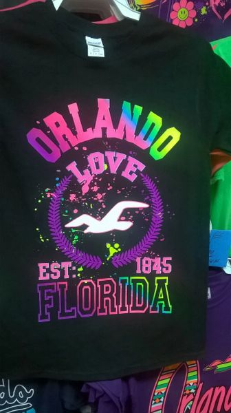 Adult Neon Orlando LOVE T-Shirts