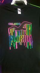 Adult Neon SE Driping Orlando Florida T-Shirts