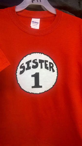 Adult SISTER-1 T-Shirts