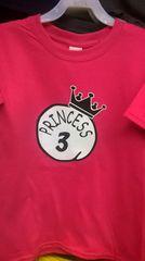 Kid's PRINCESS-3 T-Shirts