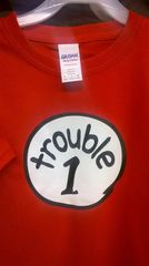 Adult TROUBLE-1 T-Shirts