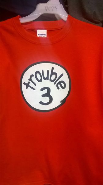 Adult TROUBLE-3 T-Shirts