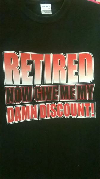 RETIRED Now Give Me My Damn Discount