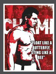Muhammad Ali T Shirt Float Like A Butterfly Sting Like A Bee