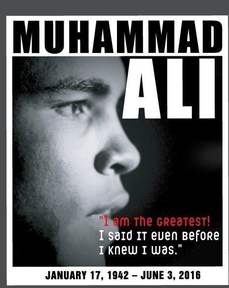 Muhammad Ali T Shirt I Am The Greatest!
