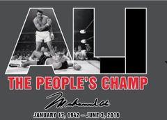 Muhammad Ali T Shirt The People's Champ