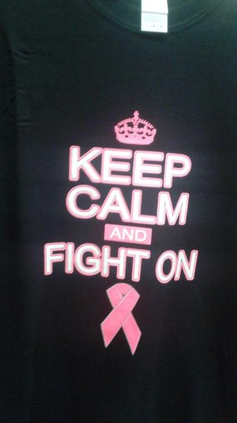 Cancer Keep Calm And Fight On
