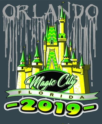 Adult 2019 w/ CASTLE Orlando FL T-shirt