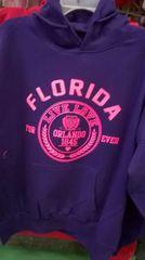 Orlando hoodie pink live love