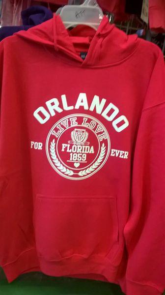 Orlando hoodie white live love