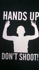 hands up t-shirt