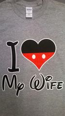 I ♥Love my wife t-shirt