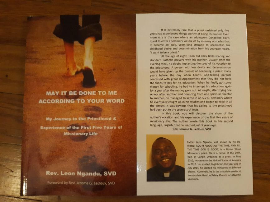 Fr. Leon's book about his journey to the priesthood and his experience as a priest.
