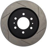 STOPTECH Slotted Sport Brake Rotor Front Right (7 lugs) 2011-2014 F150 5.0