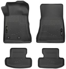 HUSKY LINERS WeatherBeater FRONT & 2ND SEAT FLOOR LINERS-2015-2018 MUSTANG/GT/COUPE