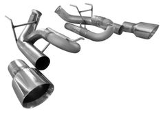 """SOLO PERFORMANCE 3"""" Axle Back - 2011-2014 Mustang GT 5.0L"""