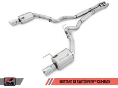 AWE SwitchPath™ Cat-back Exhaust - 2015-2017 Mustang GT 5.0L