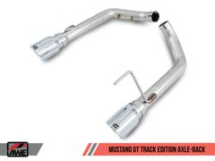 AWE Axle-back Exhaust Track Edition -2015-2017 Mustang GT 5.0L