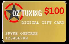 Oz Tuning $100 Digital Gift Card