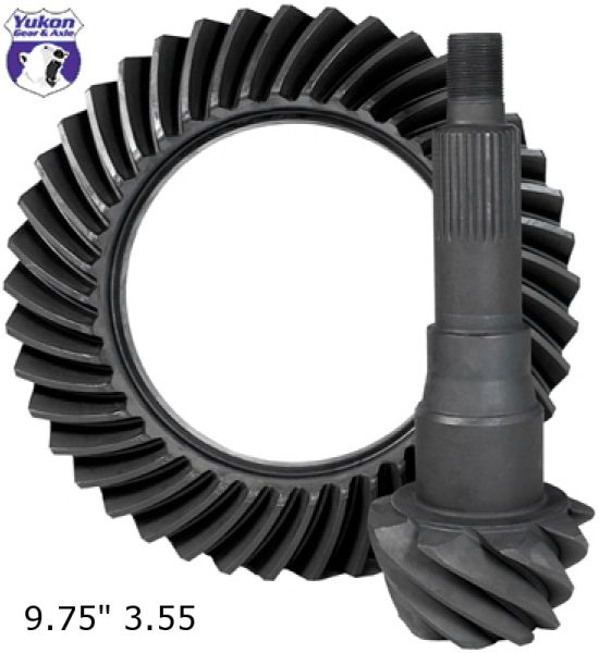 "YUKON GEAR Ring & Pinion 9.75"", 3.55 ratio - 2011-2018 F150"