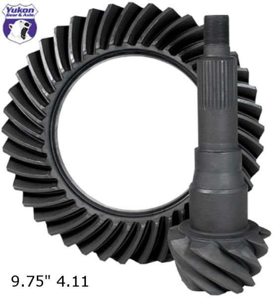 "YUKON GEAR Ring & Pinion 9.75"", 4.11 ratio - 2011-2020 F150"