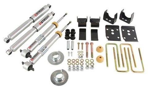 "BELLTECH Lowering Kit (+1"" to -3"" Front. -5.5"" Rear) - 2015-2016 F150 2WD"