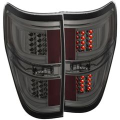 ANZO LED Taillights Smoke 2011-2014 Ford F-150