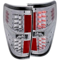 ANZO LED Taillights Chrome 2011-2014- Ford F-150
