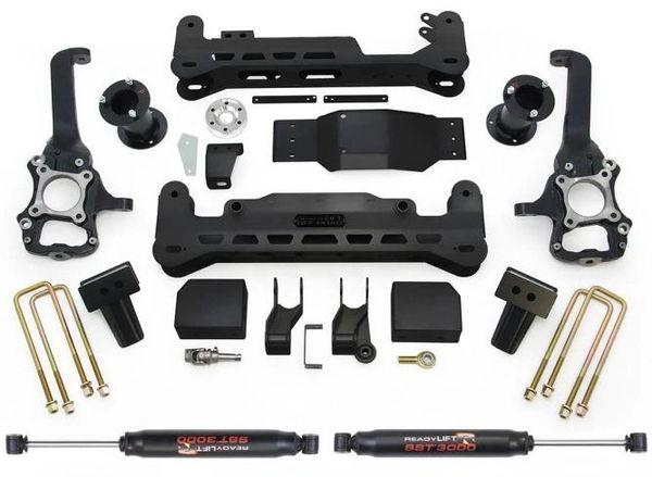 """READY LIFT Off Road 7"""" Lift Kit w/SST3000 Shocks - 2015-2020 F150 4WD"""