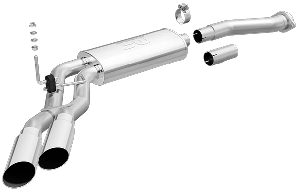 MagnaFlow Ford F-150 Street Series Cat-Back Performance Exhaust - 2011-2014 F150 5.0L