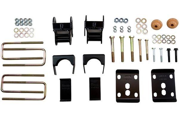 """BELLTECH 4"""" Drop Rear Lowering Flip Kit - 2011-2014 F150"""