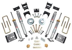 Belltech LOWERING KIT 3inF - 4inR - 2014 Ford F-150 STD Cab Short Bed 2wd/4wd